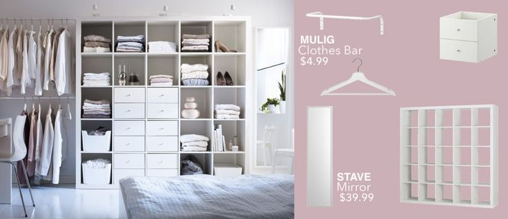 25 best ideas about white shelving unit on pinterest ikea shelving unit ikea white shelves - Ikea bedroom solutions ...