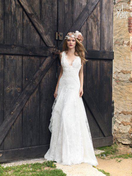 Yolan Cris 2015 La Mariée en Colère - Galerie d'inspiration, mariée, bride, mariage, wedding, robe mariée, wedding dress, white, blanc, robe de mariée