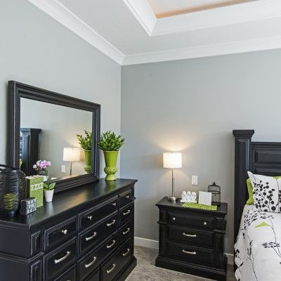 2014 Northern Utah Parade of Homes, CF Olsen Homes, master bedroom, coffer ceiling, tray ceiling