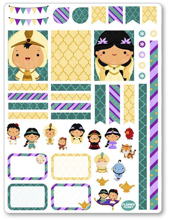 The Arabian Prince decorazione Kit / settimanale di PlannerPenny