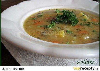 Kedlubnová polévka s máslovou jíškou recept - TopRecepty.cz