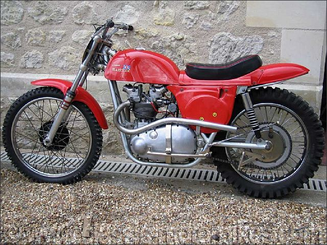 antique motorcycles for sale | 1964 Rickman Metisse Motocross Grand Prix