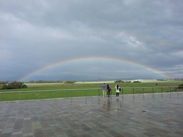 Amazing rainbow phenomenon...Love the nature!
