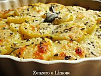 Questa parmigiana bianca preparata con le patate è un piatto unico di una bontà…