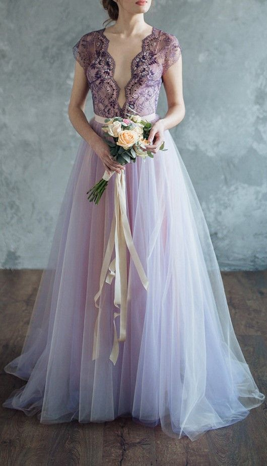 25 best ideas about lilac wedding dresses on pinterest