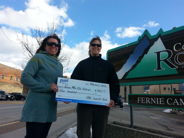 The Fernie Alpine Resort Summit Fund is proud to support the Fernie Mountain Film Fest with a $400 grant!