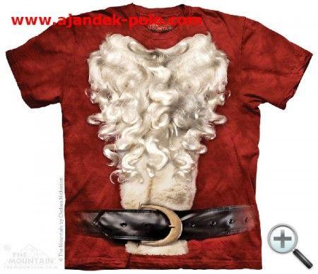 MIKULÁS JELMEZ Mountain férfi póló.