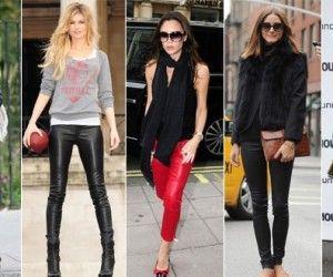 Deri Tayt Modelleri ve Kombinleri #deritayt #taytmodelleri #taytlar #moda #kombinler http://www.enyeniabiyemodelleri.com/deri-tayt-kombinleri/