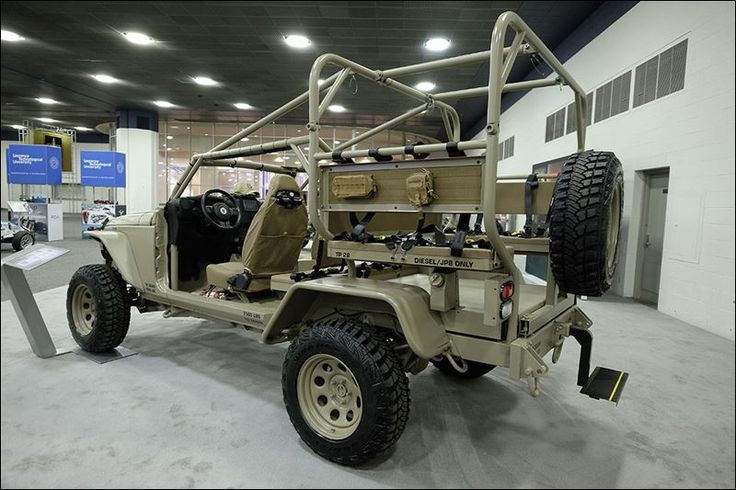 Contractor shoots for battle-ready Jeep - Toledo Blade