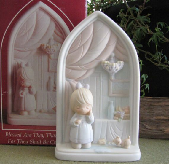 Precious Moments The Second Beatitude Limited by LazyYVintage