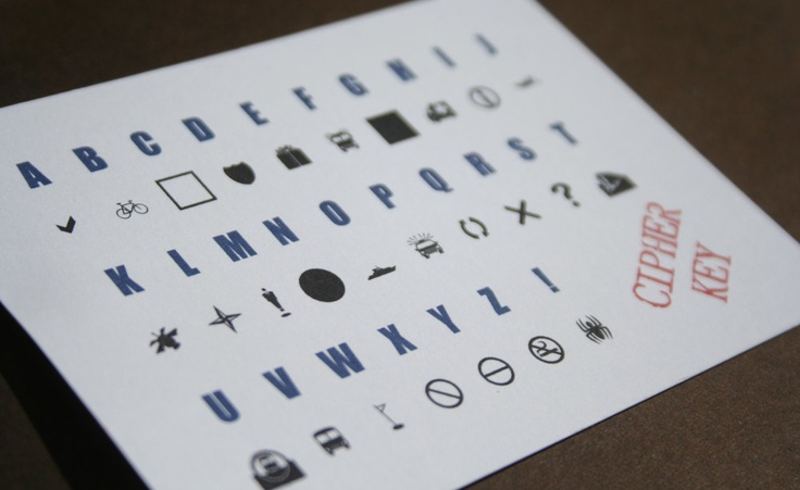 Secret Agent Party Place Cards.