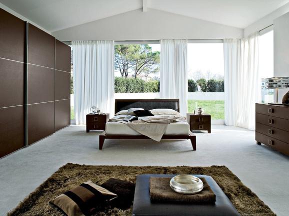 Camera da letto moderna modern bedroom camera for Camera da letto matrimoniale moderna completa