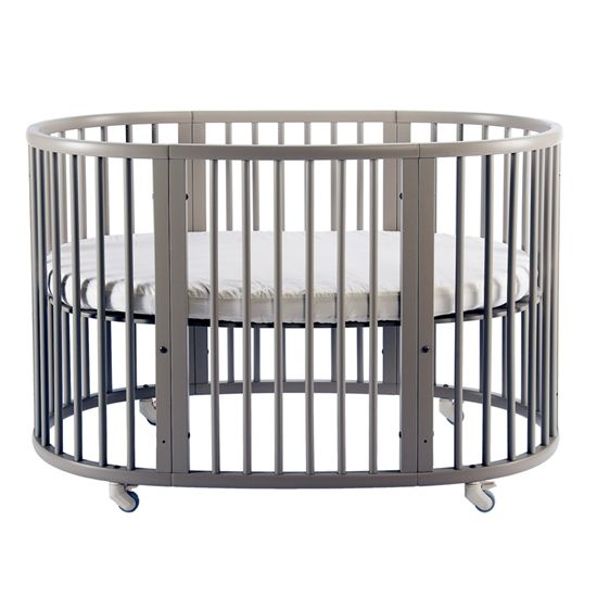 stokke sleepi crib in grey nursery dreams pinterest grey and cribs. Black Bedroom Furniture Sets. Home Design Ideas