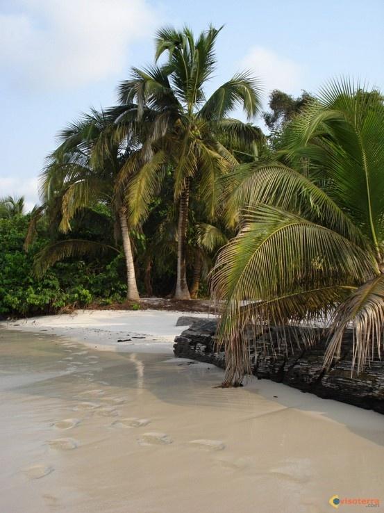 Cap Lopez beach, #Port-Gentil, #Gabon