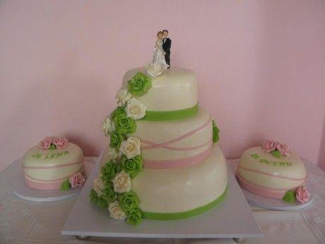 Výsledek obrázku pro dorty svatební