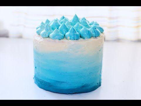 Торт Омбре - Видеорецепт бисквитного торта от Alex&Milana
