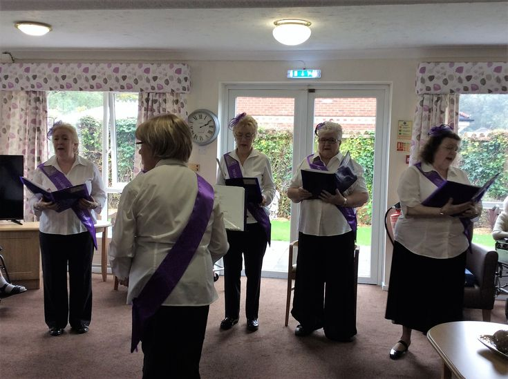 Sing-song a-long at Birch Green - Birch Green Care Home Skelmersdale