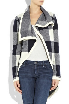 comfy and stylish: Justenoughsalt S Style, Beautiful Checkered, Checkered Sweater, Fashion Tartan, Cashmere Cardigan, Fashion Obsession