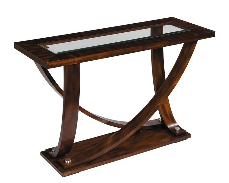 Transitional Central Park Sofa Table By Stein World
