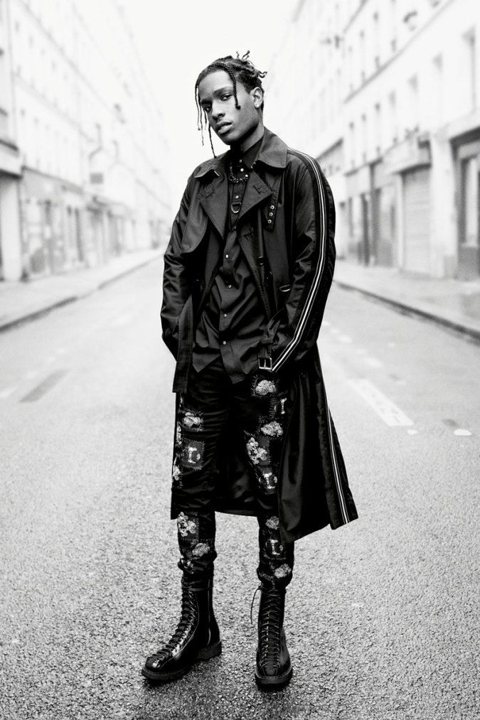 ASAP Rocky Dior 2017 Summer Campaign