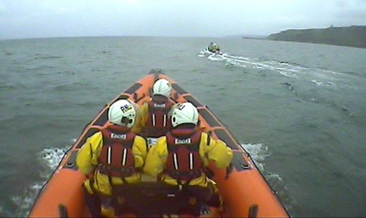 St Bees RNLI launch to a small fishing boat drifting close to St Bees Head - http://buzznews.co.uk/st-bees-rnli-launch-to-a-small-fishing-boat-drifting-close-to-st-bees-head -