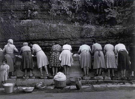 Vecchia Milano Le lavandaie, 1956