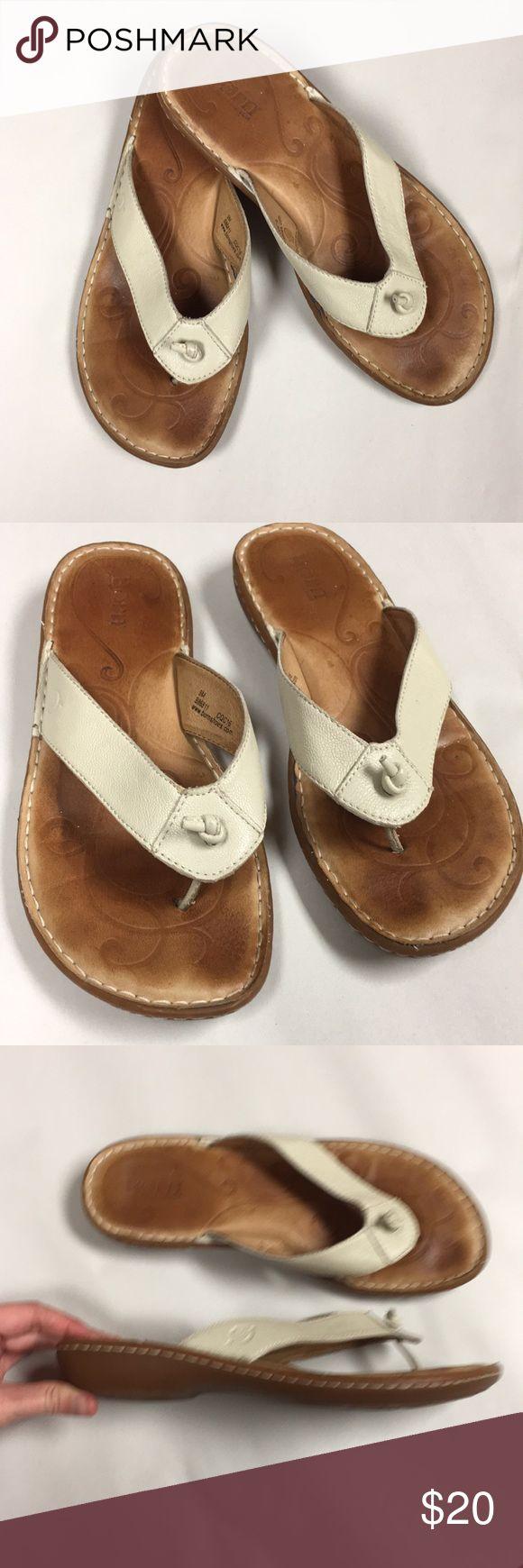 5b685bd1d04e4 Born leather flip flops born white leather flip flops size casual size mesh  terrasoles jpg 580x1740