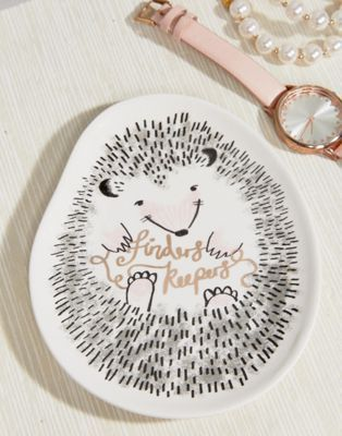 House of Disaster Hedgehog Dish - Shop at Stylizio for luxury designer handbags, leather purses and wallets. Women's and Men's watches, jewelry, sunglasses and other accessories. Fine gold and 925 sterling silver rings, necklaces, earrings. Gift ideas for women and men!