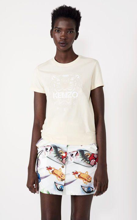 Tiger t-shirt, ECRU, KENZO