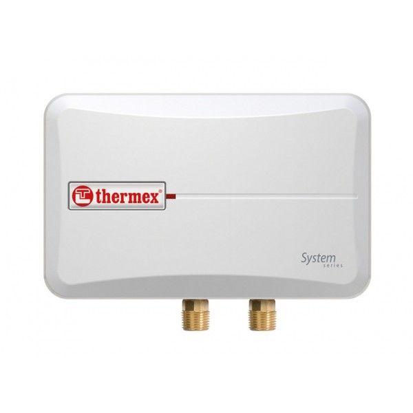 Проточный водонагреватель THERMEX System 600 White белый