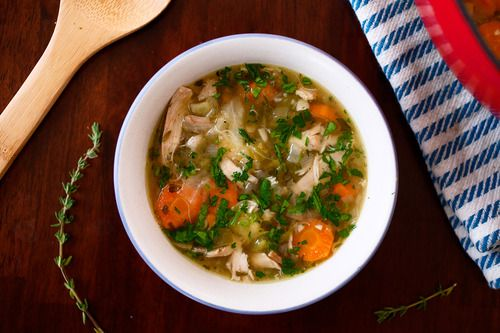 Waistband Camp - Chicken and Cabbage Soup | Paleo | Gluten Free | Lactose Free