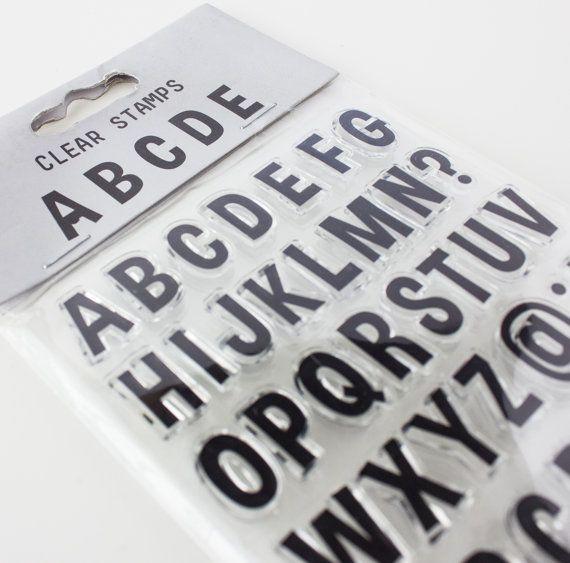 HEMA brief stempel set, stempels, duidelijke stempel-set, journaling postzegels, perfect voor project life, listergottalist, lgl, eclp, filofax