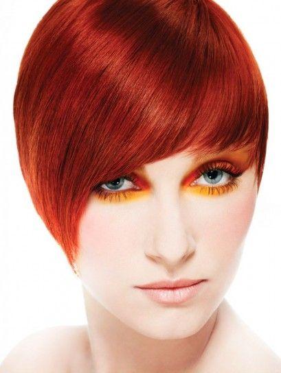 Colore capelli rosso fuoco