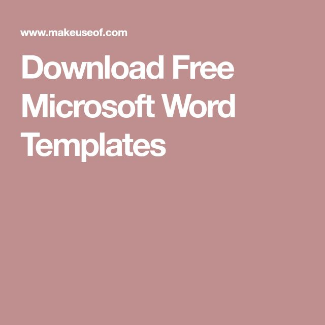 The 25+ best Microsoft word free ideas on Pinterest Free - ms word for sale