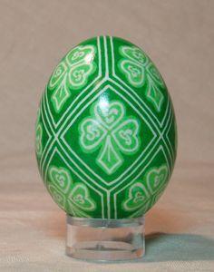 Green Shamrock Easter egg - Google Search