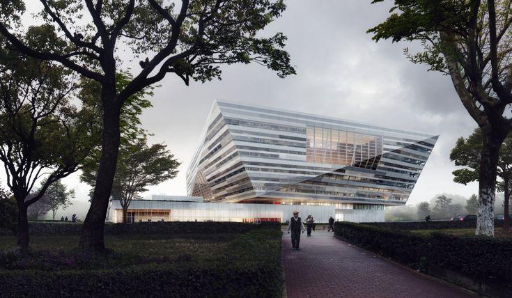 Dopo aver vinto il concorso internazionale per la nuovaShanghai East Library, Schmidt Hammer Lassen Architects hanno delineato il progetto definitivo.