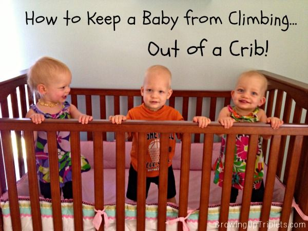 How To Keep Baby From Climbing Out Of A Crib Mattress