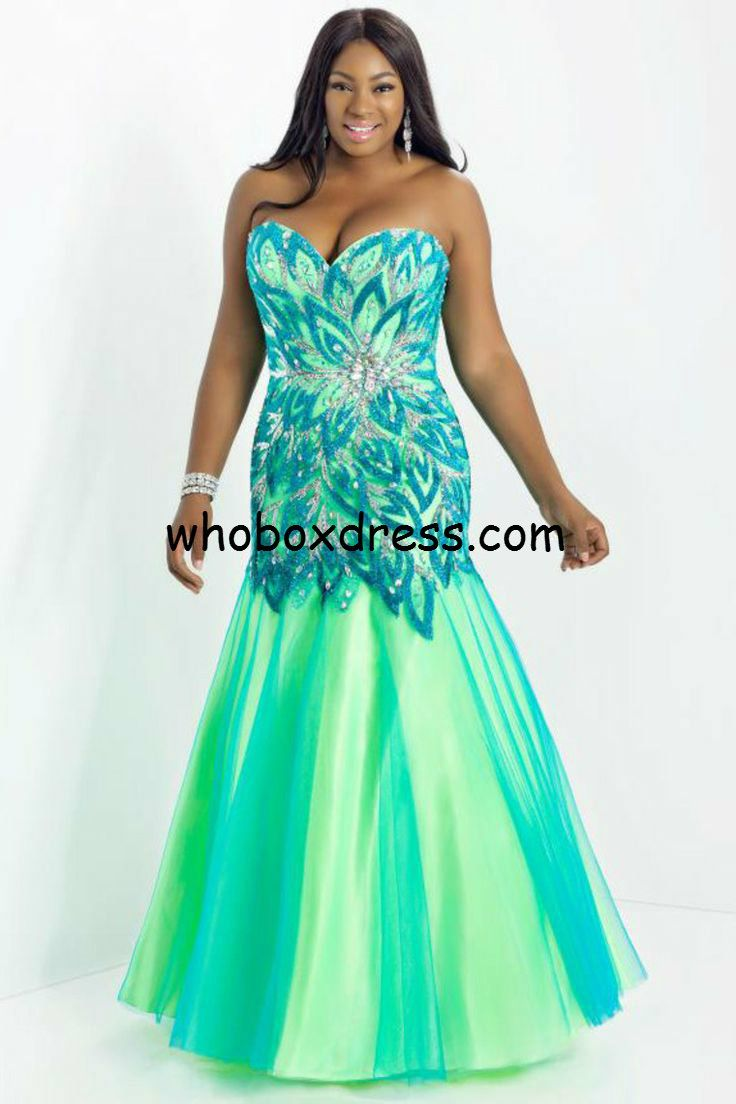 Turquoise and Neon Green Prom Dresses | Dress images