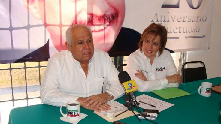 PRESENTAN PROGRAMA CONMEMORATIVO DEL 20 ANIVERSARIO LUCTUOSO DE LUIS DONALDO COLOSIO