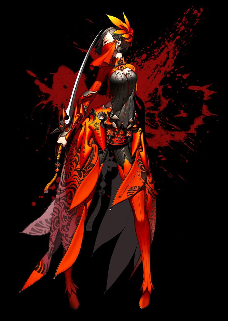Blade & Soul - Character Concept