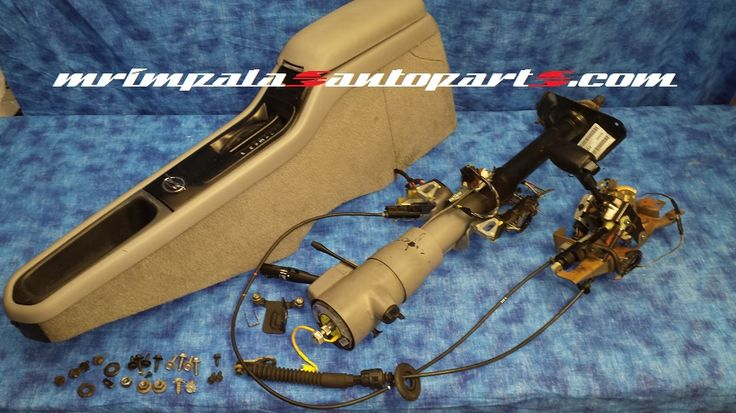 1996 Chevy Impala SS Steering column, shifter and console ...