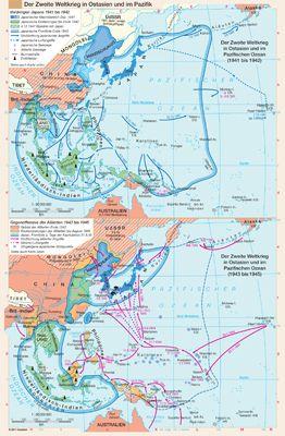 Der Zweite Weltkrieg in Ostasien und im Pazifik