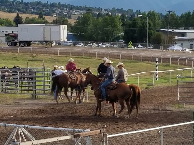 Rodeo at the Missoula  Montana fair