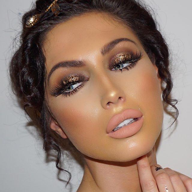 25 Unique Bronze Eye Makeup Ideas On Pinterest