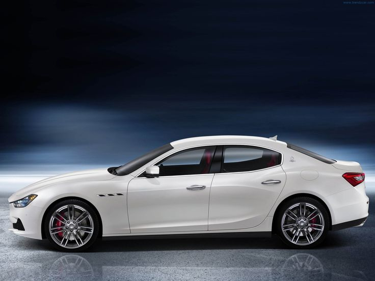 Maserati Ghibli 2014. Would want one instead of the Bayern born company car.. It's a family car afterall :)