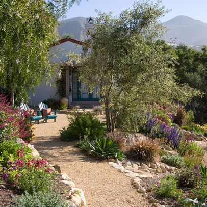 mediterranean landscape design ideas pictures remodel and decor - Brown Garden Design