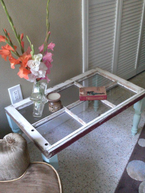 Hey, I found this really awesome Etsy listing at https://www.etsy.com/listing/192556406/old-window-coffee-table-shabby-chic