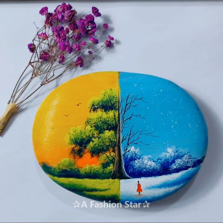 8 Best Rock Painting Ideas That Will Catch Your Eye – Pretty Art For Home Decor