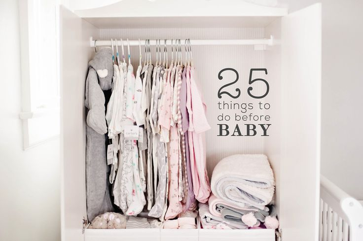 25 THINGS TO DO BEFORE BABY ARRIVES - The Ultimate List!