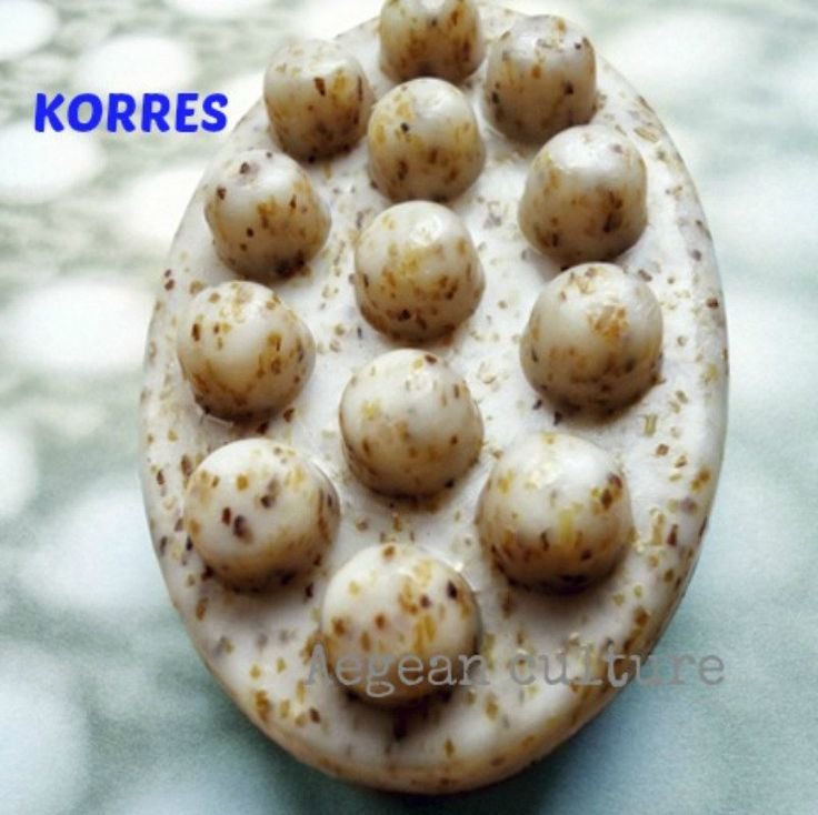 KORRES Exfoliating Anti-Cellulite Massage Soap With Seaweed Grains & Caffeine by LeFuCycliste on Etsy